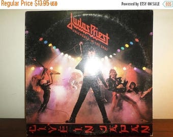 Save 30% Today Vintage 1979 Vinyl LP Record Unleashed in the East Live in Tokyo Judas Priest Very Good Condition 11368