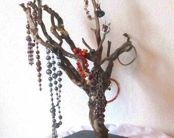 Tree Driftwood jewelry holder jewelry