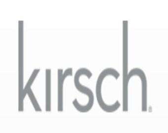 "Kirsch Designer Metals 1 3/8"" Telescoping Pole (antique Silver, 120""-180"")"