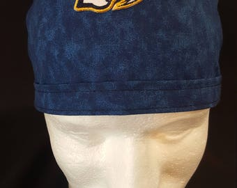 Nashville Predators NHL Hockey Tie Back Surgical Scrub Hat Cap