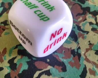 Unusual Dice - Drinking Game Die