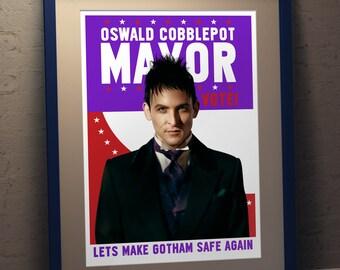 Penguin For Mayor  - Poster