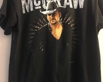 Vintage Country Concert Tim McGraw Shirt