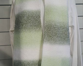 Super soft knit scarf, winter wear, holiday gift, woman scarf, scarves and wraps