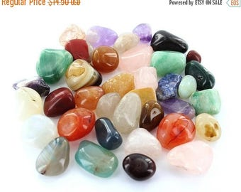 Special Discount Mixed Gemstone Tumbled Stone (1Pound)