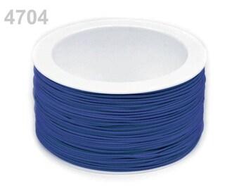 3 m elastic round 1.2 mm blue 4704