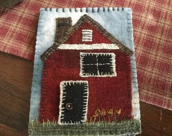 MY RED HOUSE pattern by SusanGonzalesDesigns at Ewe + Us