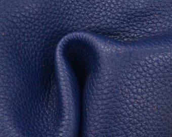 "Blue Symphony Leather New Zealand Deer Hide 8"" x 10"" Pre-Cut 4 ounces TA-56572 (Sec. 4,Shelf 4,A)"