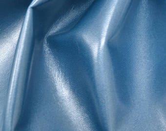 """Fashion Sky Blue Leather Cow Hide 4"""" x 6"""" Pre-cut 1 1/2 ounces BR-62911 (Sec. 3,Shelf 7,D,Box 1)"""