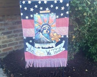 Patriotic Prayer flag
