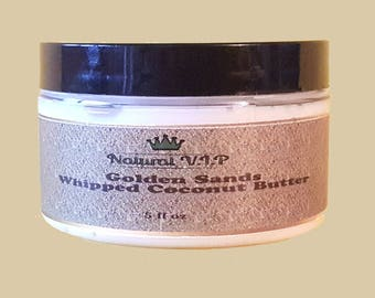 Golden Sand Oil Scented Whipped Body Butter with Vitamin E