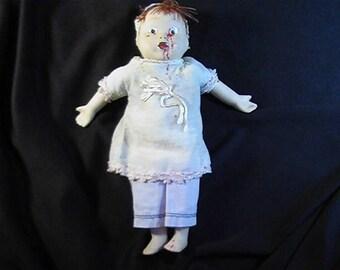 Creepy Zombie Child, Scary Doll, Zombie Doll, Horror Doll, Evil Doll, Creepy Doll, OOAK