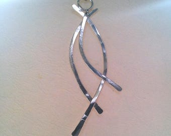 """Sterling Silver """"Swing"""" Necklace"""