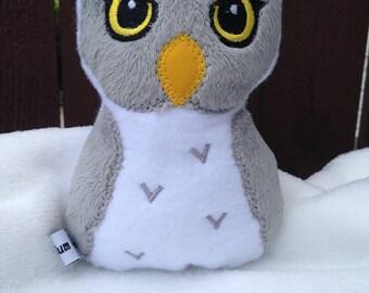 Wizarding Owl Plushie-Made to Order