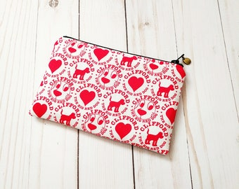 Clifford Small Zipper Pouch
