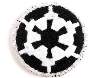 Star Wars Galactic Empire Badge Pin Button Patch