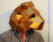 Lion Mask - Make your own mask ideal for festivals