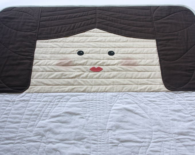Star Wars baby quilt--Leia baby quilt--Princess Leia baby quilt-MTO