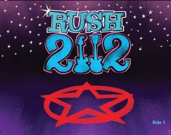 Rush 2112 Flip book
