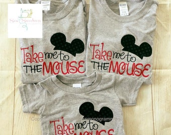 Take me to the mouse shirt