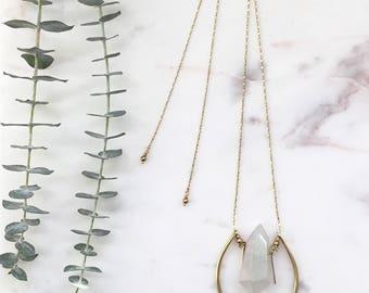 Adjustable Aurora Crystal Necklace
