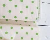 Sugarplum - Spot(Green) - Heather Ross - Windham Fabrics - Holiday Fabric