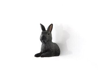 "SALE Fridge Magnet ""Lying bunny"""