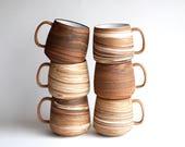 Marbled Clay Mug - READY TO SHIP - Handmade Mug - Handmade Ceramic Mug - Coffee Mug - Teacup - Ceramic Cup - Agateware - Swirlware