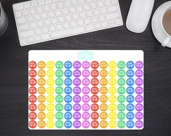 Planner Icon Stickers Auto