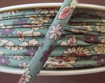Spaghetti - meter - cord flower ruffles celadon