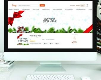 Diy etsy shop set etsy blank diy etsy shop set christmas banner do it yourself shop set christmas solutioingenieria Images
