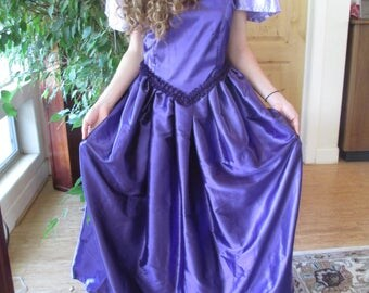 Purple Princess, Period Dress, Elizabethan, Costumes, Theatre, Cosplay, Reenactments, Shakespeare, SIze 10 -12