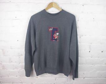 90s TAZ Loony Tuns sweatshirt crewneck 90s