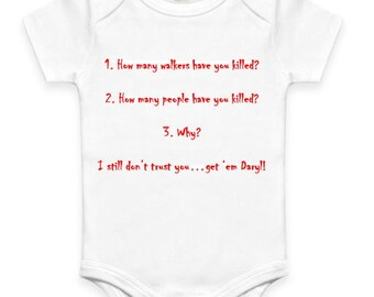 3 Questions - The Walking Dead Baby Clothes