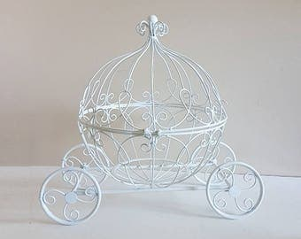 Large Cinderella Carriage, Pumpkin Carriage Card Holder