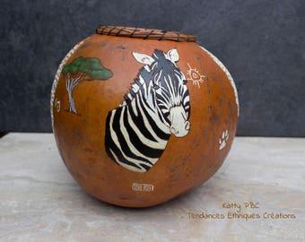 "Gourd animal handmade ""Kabira"""