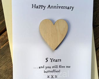 what to give for 5 year anniversary