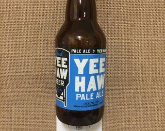 Yee Haw Pale Ale 12oz. Glass Bottle Night Light
