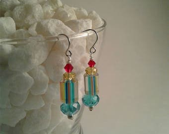 Colorful and fun pair of earrings