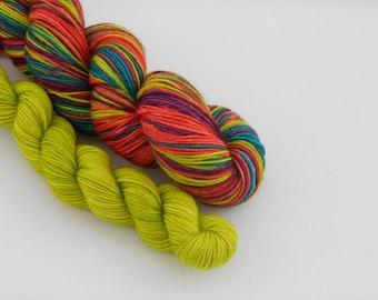 LOVE SOCK self-striping, 015, merino nylon sock yarn,100g
