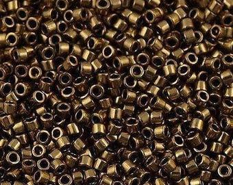 11/0 MIYUKI Delica DB22 Metallic Bronze, 20grams