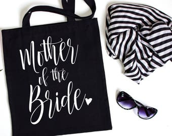 Mother of the Bride tote, Wedding Party Tote, Wedding Party Gift, Tote Bag, Wedding Gift, Personalized Tote, Bridal Party Tote
