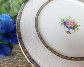 Set of 6 Antique Alfred Meakin Argyle Dinner Small Dessert Plates - England