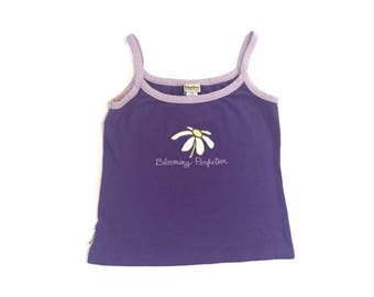 90s Purple Thick Tank Top