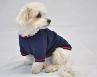 Navy Fleece Sweatshirt