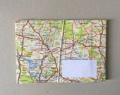 set 9 envelopes map atlas roadmap road map