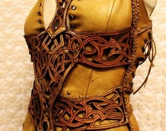 Shamanic warrior, tribal dress