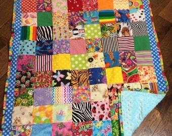 Handmade I Spy quilt