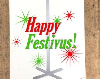 Happy Festivus Art Canvas Inspired by Seinfeld