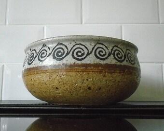 Vintage 70's Sweden Drejar Gruppen Studio Pottery Bowl